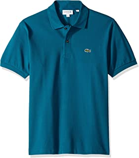Lacoste Short Sleeve Pique L.12.12 Classic Fit Polo Shirt, L1212, Minor, Medium