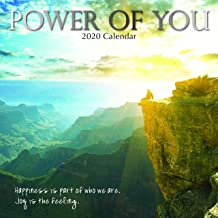 2020 Wall Calendar - Power of You Calendar, 12 x 12 Inch Monthly View, 16-Month, Includes 180 Reminder Stickers