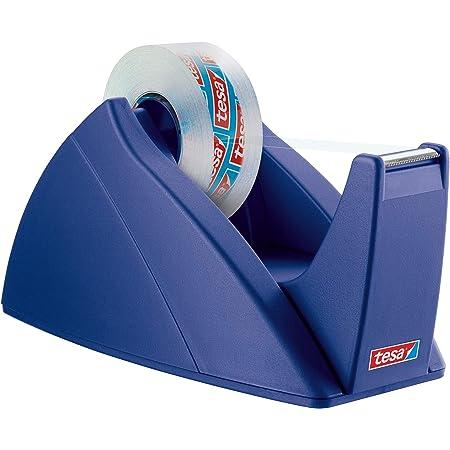Tesa Easy Cut Tischabroller Nachfüllbarer Standfester Klebeband Spender Für Klebebandrollen Bis 33 M X 19 Mm Blau Baumarkt