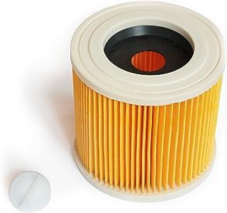 MI:KA:FI Filtro de cartucho | para Kärcher Aspiradora en seco y húmedo | WD2 + WD3 + WD2.200 + WD3.200 + WD3.300 M + WD3.500 P + SE 4001 + SE 4002 | como 6.414-552.0
