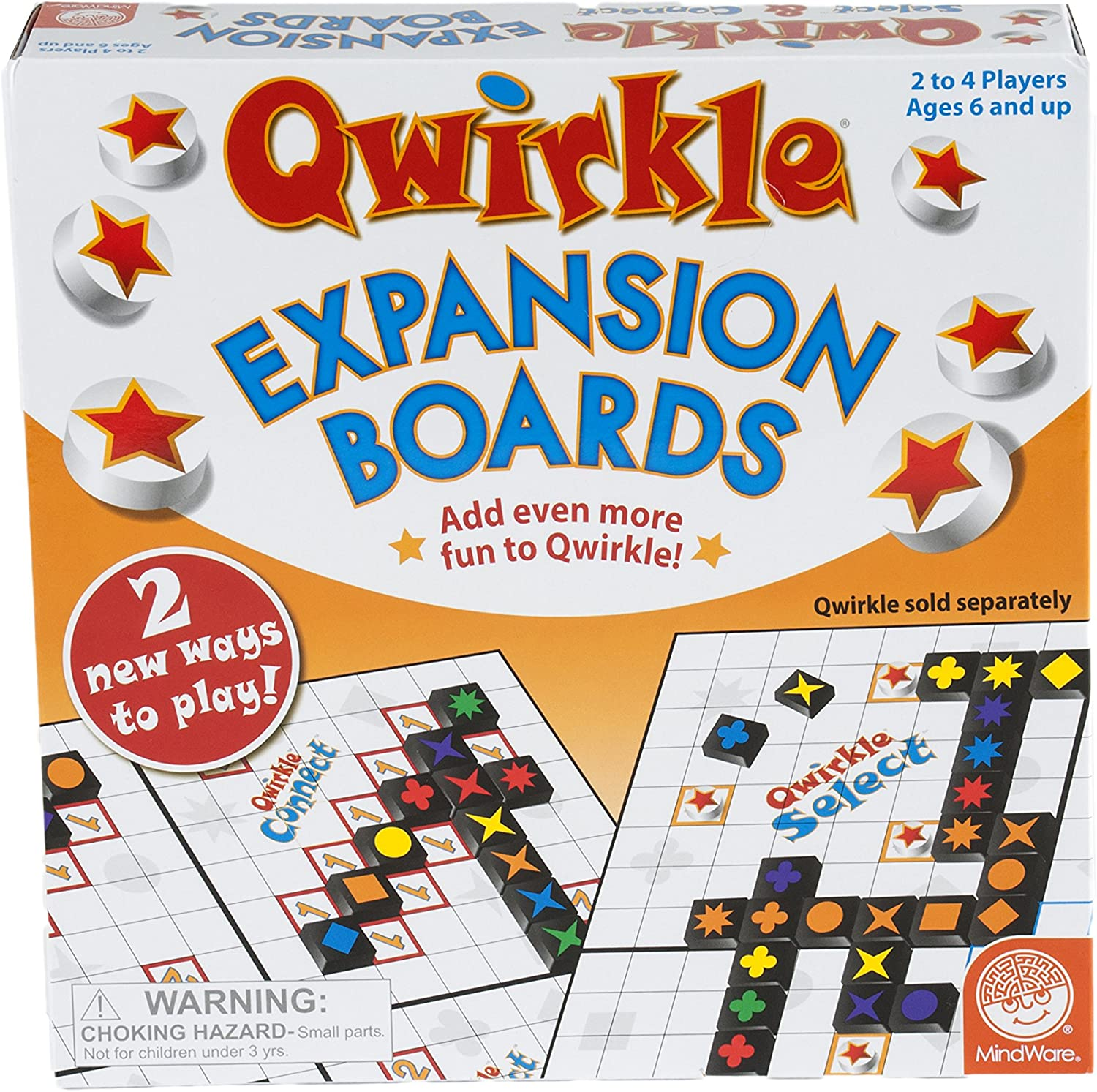 Qwirkle Expansion Boards Set by MindWare