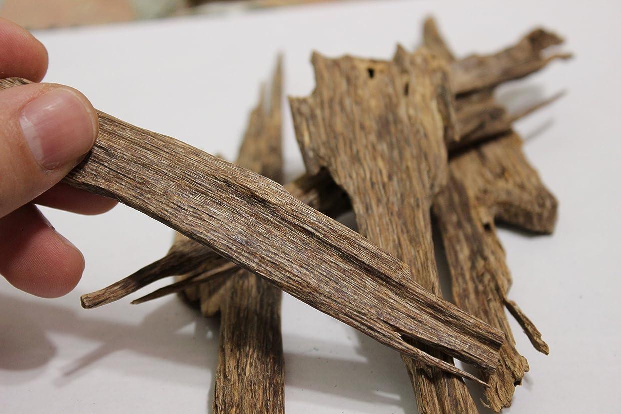 ファウルバーター摂氏ベトナム語Wild Harvested Agarwoodチップ?–?Oud Incense?–?ダークブラウン色