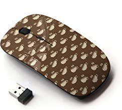 KOOLmouse [ Optical 2.4G Wireless Computer Mouse ] [ Coffee Cup Brown ]