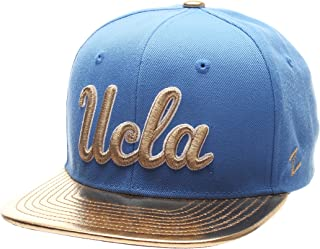 Zephyr NCAA UCLA Bruins Youth Flash 5 Snapback Hat, Blue/Gold, Adjustable