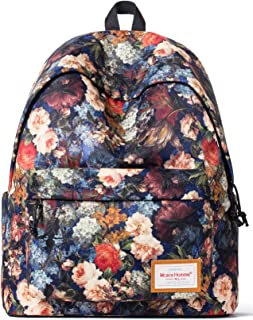 School Backpack Bookbags Lightweight Travel Daypack Laptop Bag for Grils Women Gift