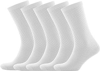 قوزک بامبو مردانه NUDUS | ربع | جوراب لباس ، جعبه هدیه 5 جفت ، کیفیت عالی