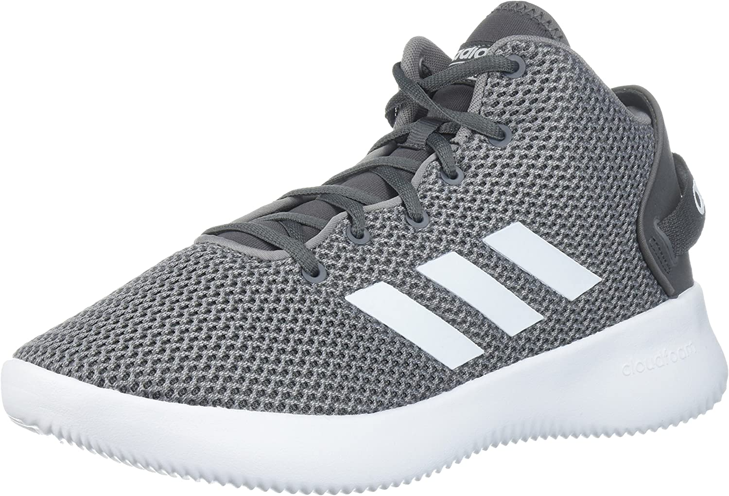 Adidas Men's Cloudfoam Refresh Mid Mid-Top Fabric Basketball shoes