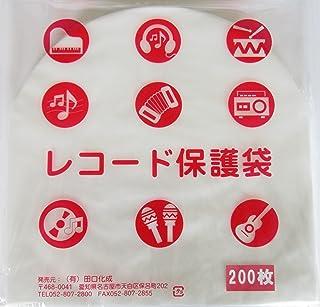 LP丸型内袋200枚 厚口0.028mm 国内製造 静電防止素材入り