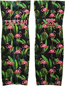 Zensah - Tropical Print Compression Leg Sleeves