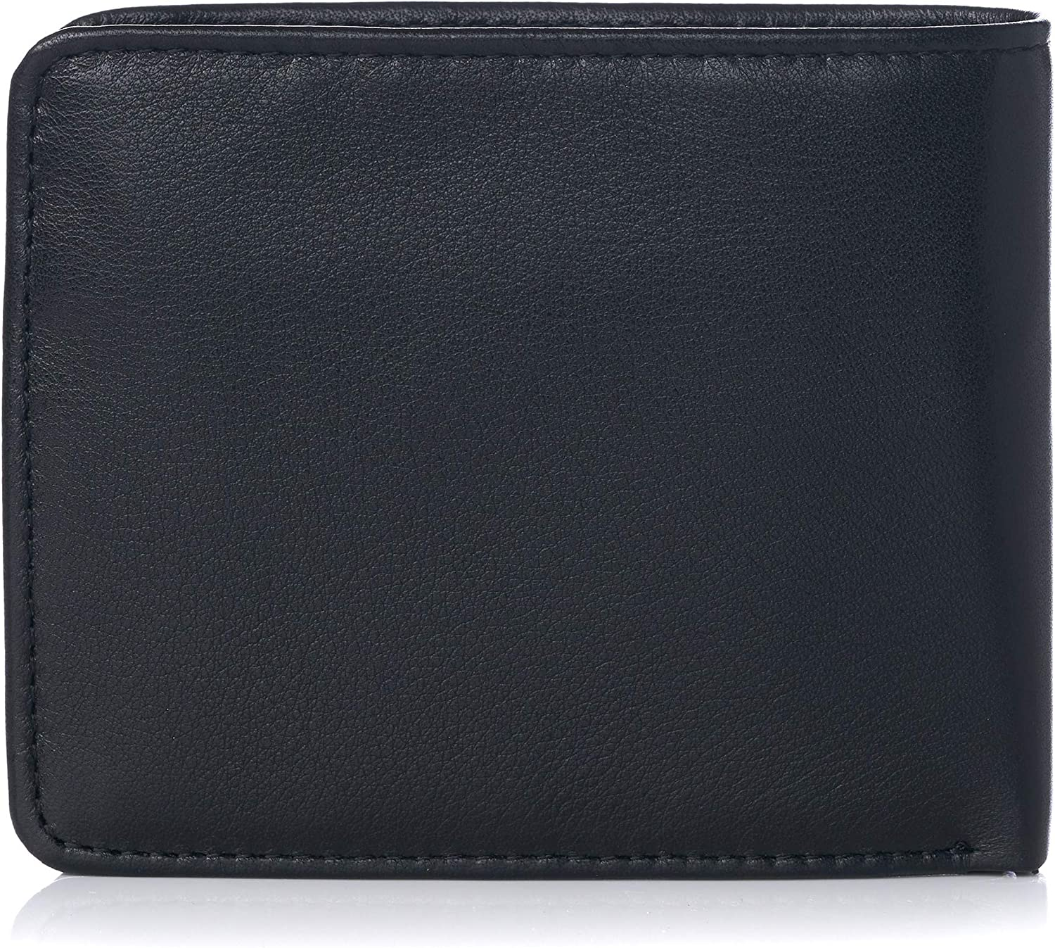 Alpine Swiss RFID Protected Men's Max Coin Pocket Bifold Wallet with Divided Bill Section Camden Collection Comes in a Gift Box