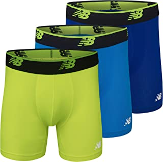 "New Balance Men's Mesh 6"" No Fly Boxer (3-Pack)"