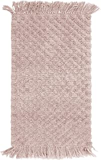 French Connection Bath Rugs, 20 in. x 34 in, Blush