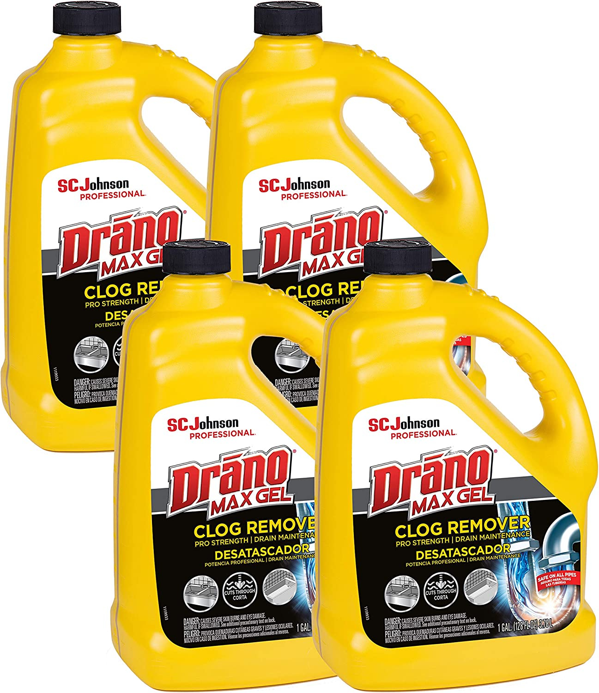 SC Overseas parallel import regular item Johnson Professional Drano Max Gel Removing To Store Clog Drain 12