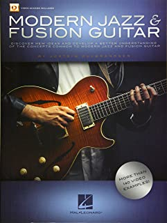 Modern Jazz & Fusion Guitar: More Than 140 Video Examples! (GUITARE)