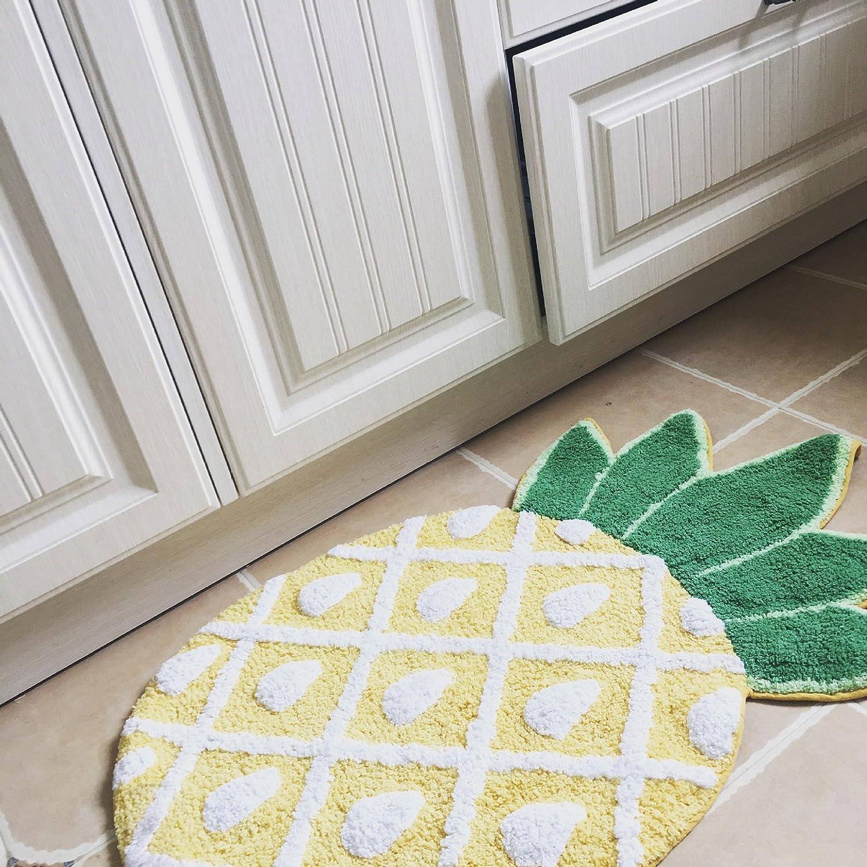 Watooma Premium Door Mat For Entrance Areas Doormat In Various Sizes Door Scraper For Front Door Inside And Out 41 X 75 Cm Lemon Amazon Co Uk Kitchen Home