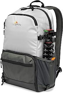 Lowepro LP37238-PWW - Mochila para cámara Ext. Truckee BP 250 LX para Tablet 15 DSLR compacta/cámara sin Espejo Sony Canon Nikon 1-2 Objetivos Gimbal Dron dji Osmo Mavic Gris Claro