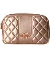LOVE Moschino - Quilted Metallic Fannypack