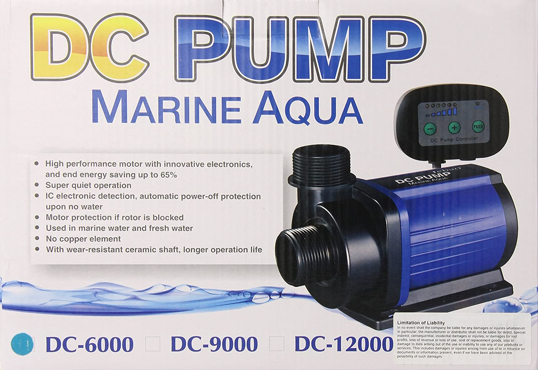 Jebao DC6000 DC Return Pump for Aquarium
