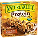 Nature Valley Protein Chewy Bars, Peanut Butter Dark Chocolate, 7.1 oz, 5 ct