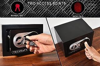 Small Quick Access Biometric Fingerprint Safe - TechSafe