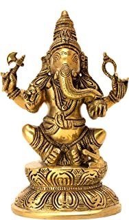 Decorative Ganesh Statue handicrafts Product by Bharat HaatBH06191