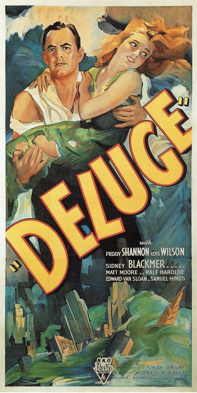 Black Creations Deluge  1933 US Poster Canvas Picture Art Print Premium Quality A0 A1 A2 A3 A4 (A0 Canvas (30 40))
