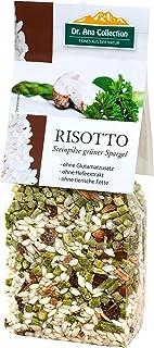 Dr. Ana Collection - Risotto Reis mit Steinpilzen und grünem Spargel 200g 5 Beutel - auch erhältlich als 1 bis 7 Beutel