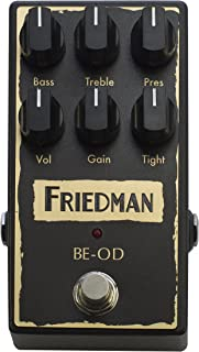 Friedman Amplification BE-OD Overdrive Guitar Effects Pedal