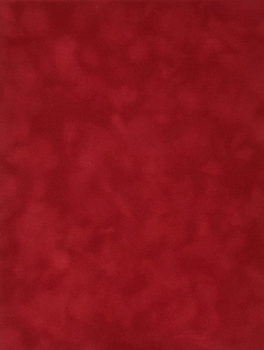 Sew Easy Industries 12-Sheet Velvet Paper, 8.5 by 11-Inch, Tomato
