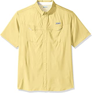 Columbia Columbia Men's Low Drag Offshore Short Sleeve Shirt, UPF 40 Sun Protection and Moisture Wicking