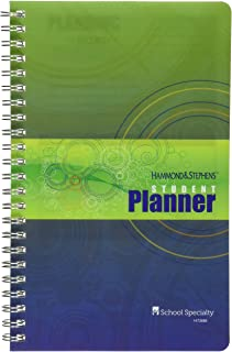 """Hammond and Stephens 803182 Undated Weekly Student Planner, 5"""" x 8"""" Size"""