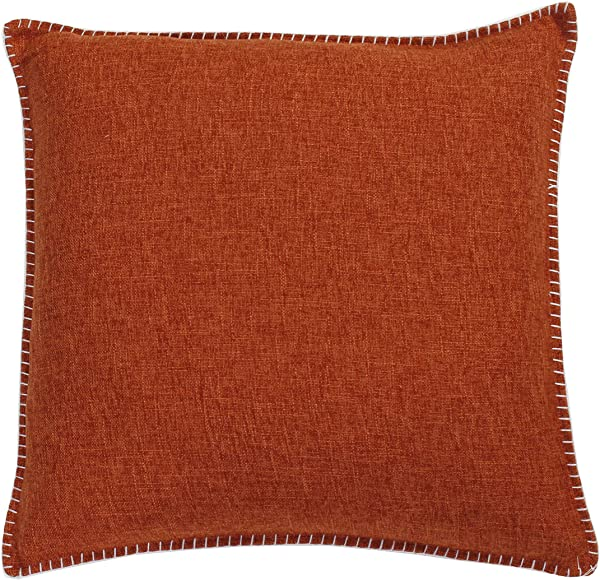 Thro By Marlo Lorenz Whipstitch Throw Pillow Set Of 2 20 Square Umber