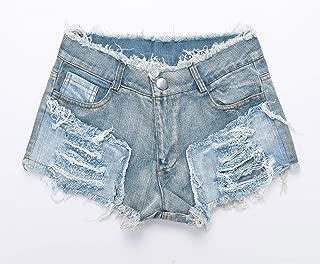 Pantaloncini Super Pantaloni Caldi Donna Pantaloncini Corti Neri Elasticizzati da Donna Pantaloni Casual da Donna Europei Americani da Nightclub Ultra Corto