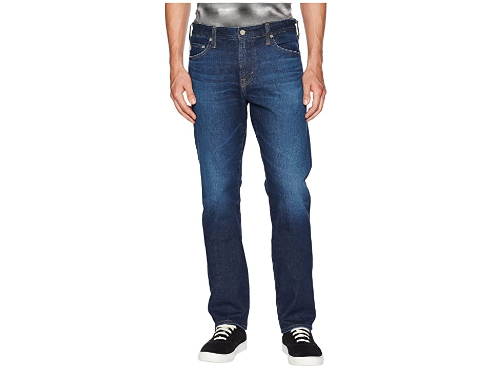 Image of AG Adriano Goldschmied Everett Slim Straight Leg in 5 Years Lost Coast (5 Years Lost Coast) Men's Jeans