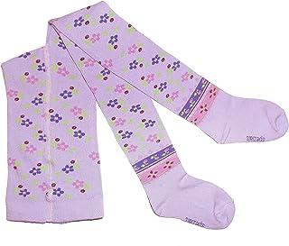Weri Spezials Baby und Kinderstrumpfhose für Mädchen in Baumwolle mit edlen Volksmustern - Etno.