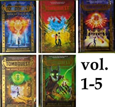 TOMBQUEST series SeT: Books : 1-5 ( Book of The Dead , Amulet Keepers, Valley of Kings, The stone Warriors, The Final Kingdom )