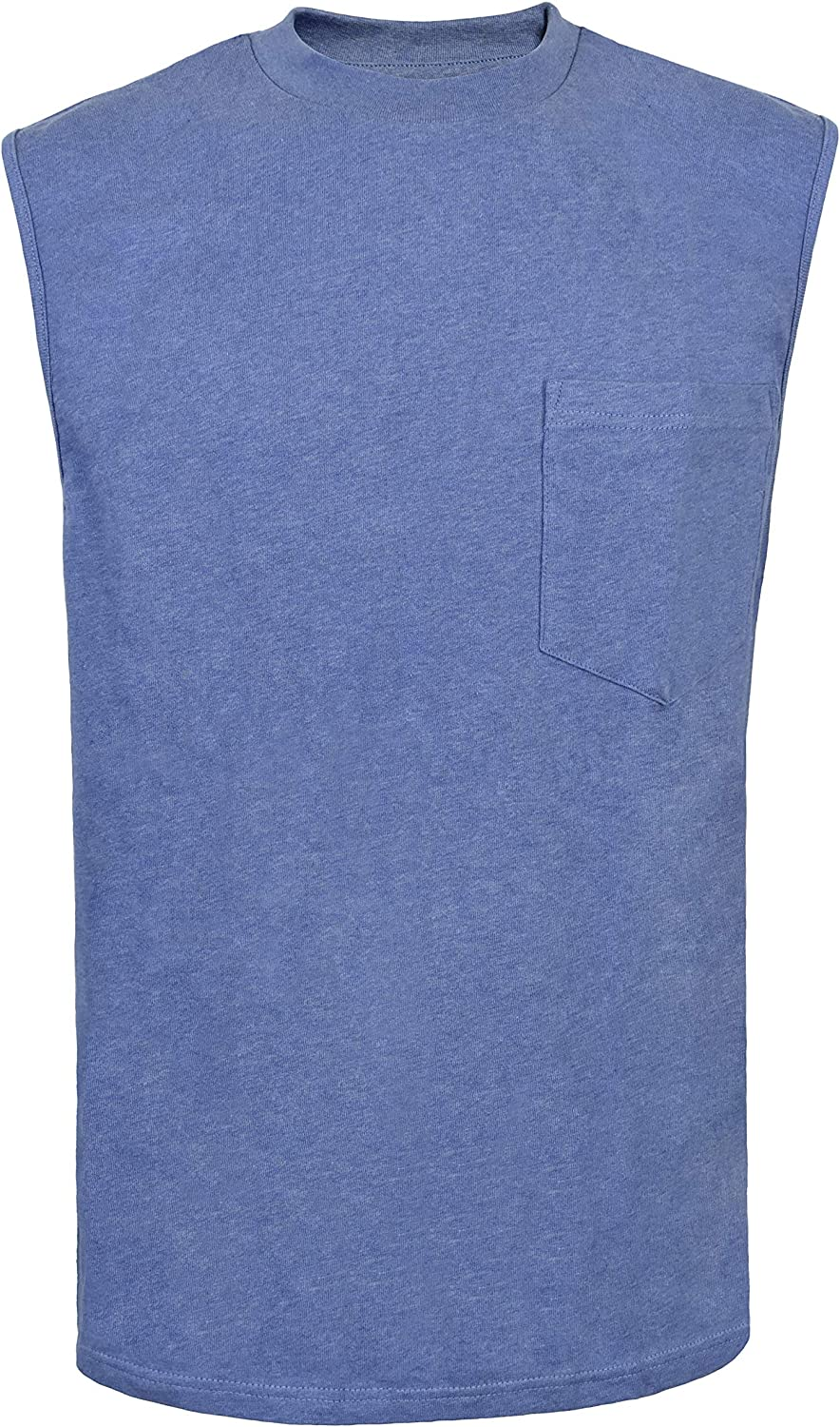 Victory Outfitters Men's Fortified Cotton Extra Length Sleeveless Tee
