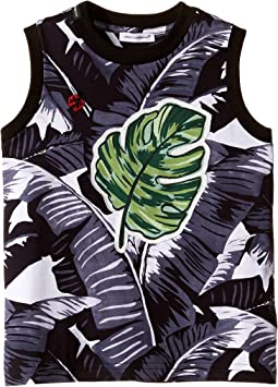 Banana Leaf Sleeveless T-Shirt (Toddler/Little Kids)