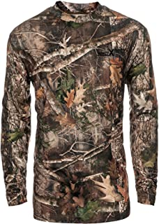 Performance Camo Hunting Shirt: All Season Odor and...