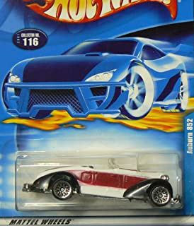 Hot Wheels #2001-116 Auburn 852 Dark Red Tampo Collectible Collector Car Mattel 1:64 Scale