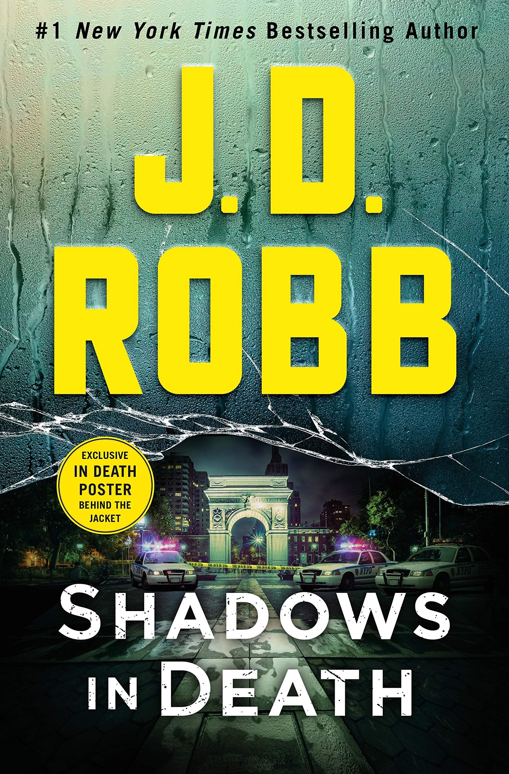 Cover image of Shadows in Death by J. D. Robb