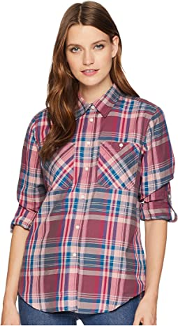 Plaid Cotton-Twill Shirt
