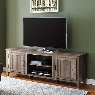 WE Furniture AZ70CS2DGW TV Stand, 70
