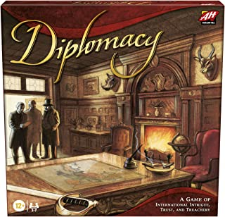 Hasbro Gaming Avalon Hill Diplomacy Cooperative Board Game, European Political Themed Strategy Game, Ages 12 and Up, 2-7 P...