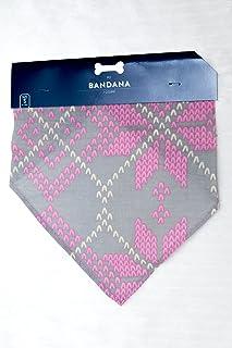 Horizon Pet Bandana (Small 1lb-18lb, Pink/Grey)