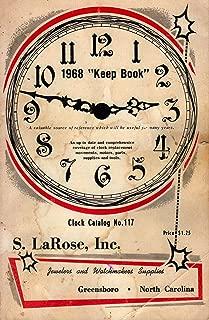 1968 Keep Book (Clock Catalog No 117)