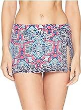 Tommy Bahama Womens Riviera Tile Skirted Hipster Bottom Cerise Size Large