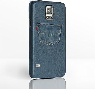 Carcasa para Samsung Galaxy con diseño de punto,12diseños a elegirFunda rígida de plástico con imagen completa de iCaseDesigner., plástico, Jean Pocket, Samsung Galaxy S4 Mini