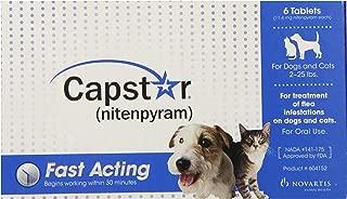 Novartis Capstar Flea Killer 2-25lbs., 6 Tablets