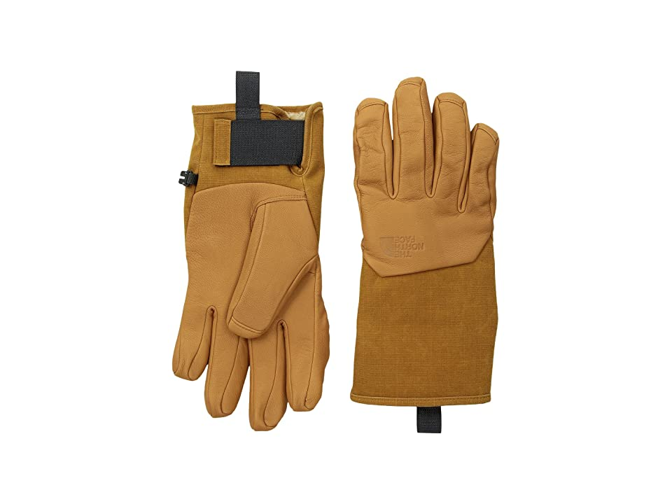 The North Face II Solo Gloves (Timber Tan) Extreme Cold Weather Gloves